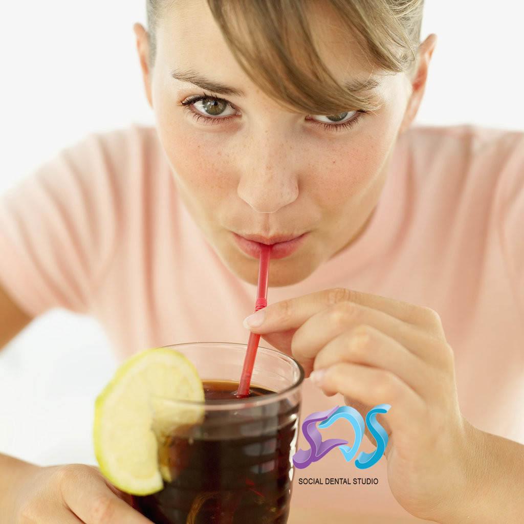 El efecto de los refrescos en nuestros dientes
