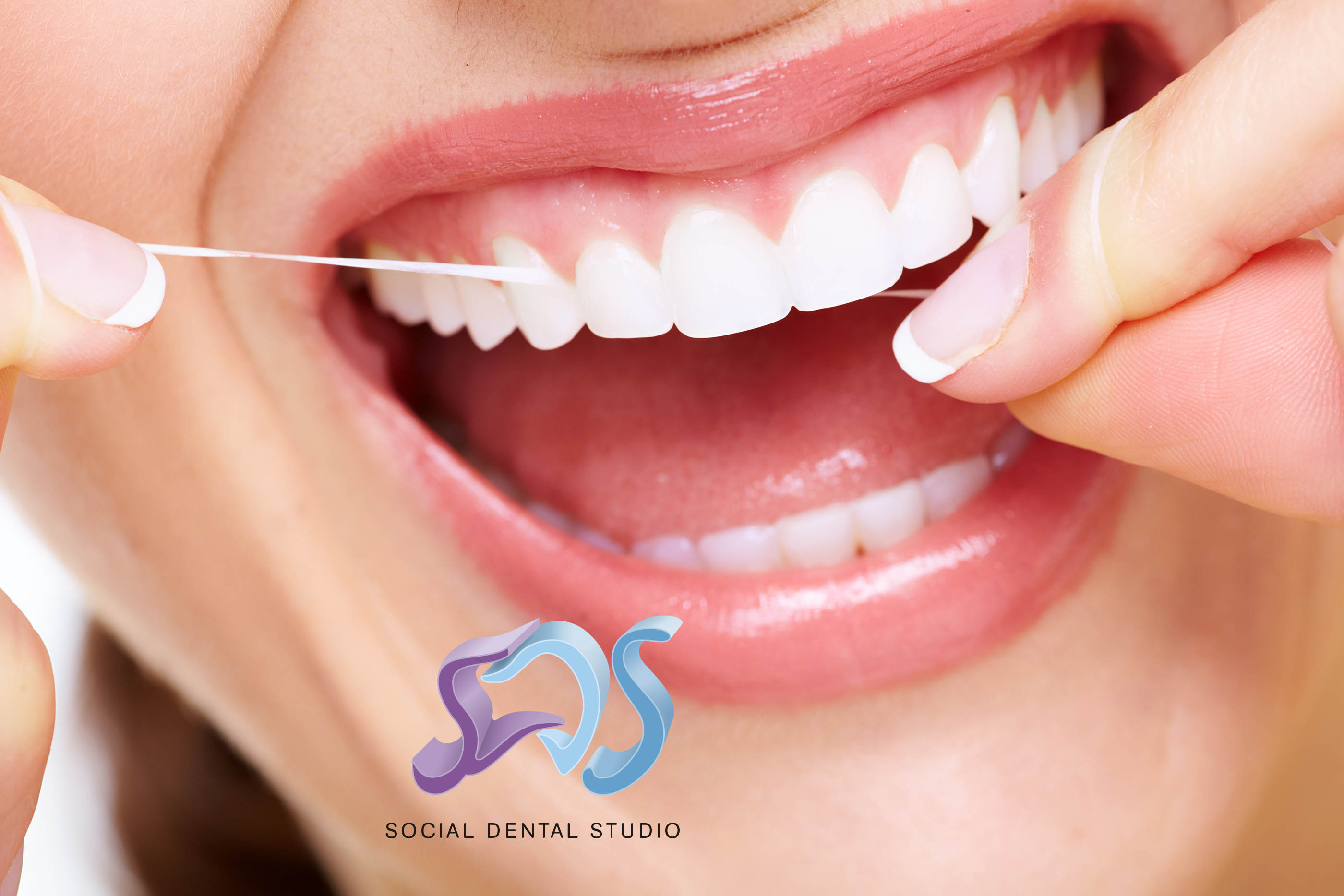 Uso adecuado de la seda dental